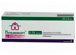 Расширение показаний для применения препарата Пульмикорт®