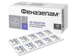 Новая форма выпуска препарата Феназепам®:  диспергируемые таблетки