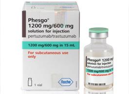 В России зарегистрирован препарат Фесго® (пертузумаб + трастузумаб)   для терапии HER2-положительного рака молочной железы