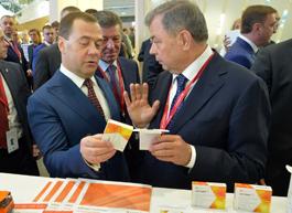 Председатель Правительства дал высокую оценку противовирусному препарату «Кагоцел»