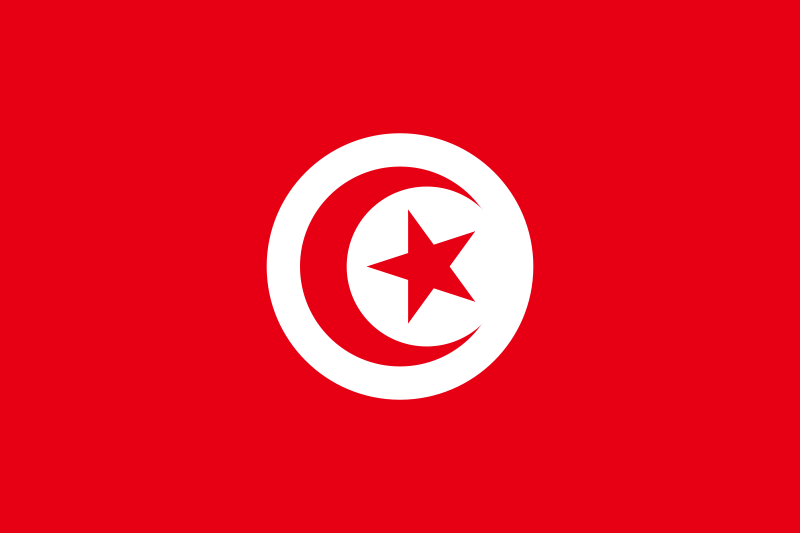 Тунис флаг