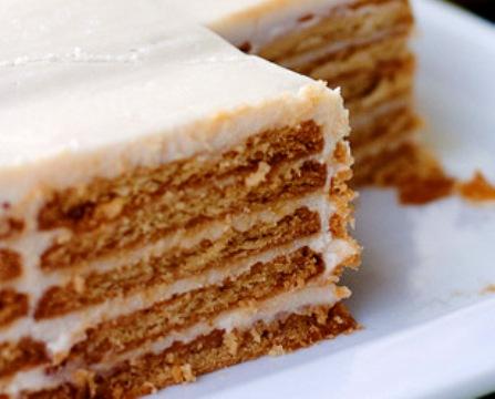 Тортик из печенья рецепты с фото