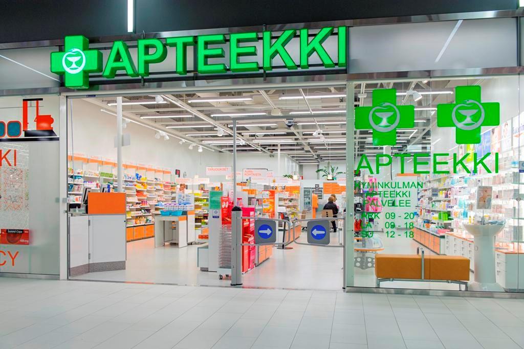 Аптеки в финляндии лаппеенранта